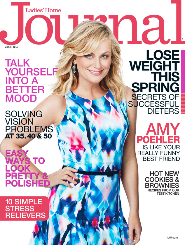 Amy Poehler, Ladies' Home Journal, March 2014 Cover