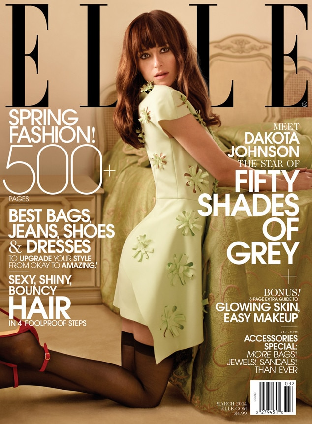 Dakota Johnson, Exclusive, Elle Magazine