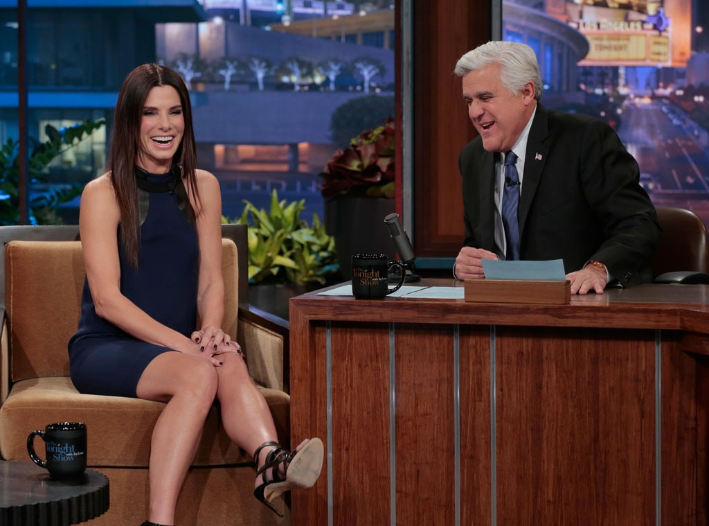 Sandra Bullock, Jay Leno, The Tonight Show