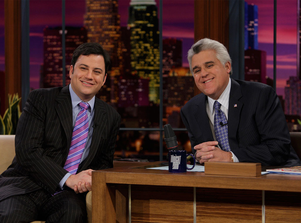 Jimmy Kimmel S Baby Boy Helped End His Feud With Jay Leno