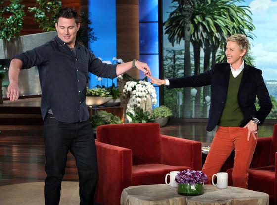 Channing Tatum, Ellen DeGeneres