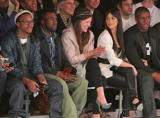 Kanye West, Milla Jovovich, Kim Kardashian, Reggie Bush