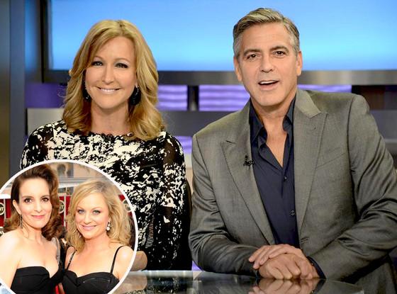 George Clooney, Tina Fey, Amy Poehler