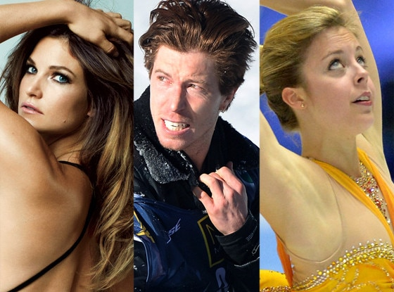 Julia Mancuso, Shaun White, Ashley Wagner