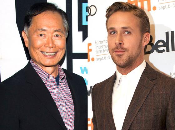 George Takei, Ryan Gosling
