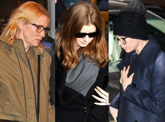 Amy Adams, Cate Blanchett, Michelle Williams, Philip Seymour Hoffman Wake