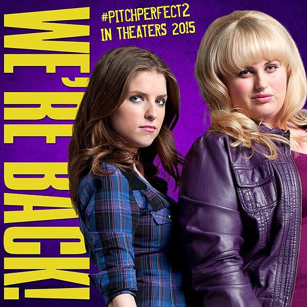 Rebel Wilson, Pitch Perfect 2, Instagram