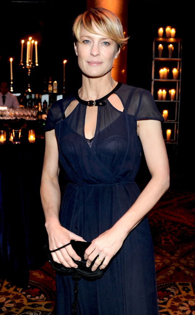 Robin Wright, 2014 amfAR New York Gala