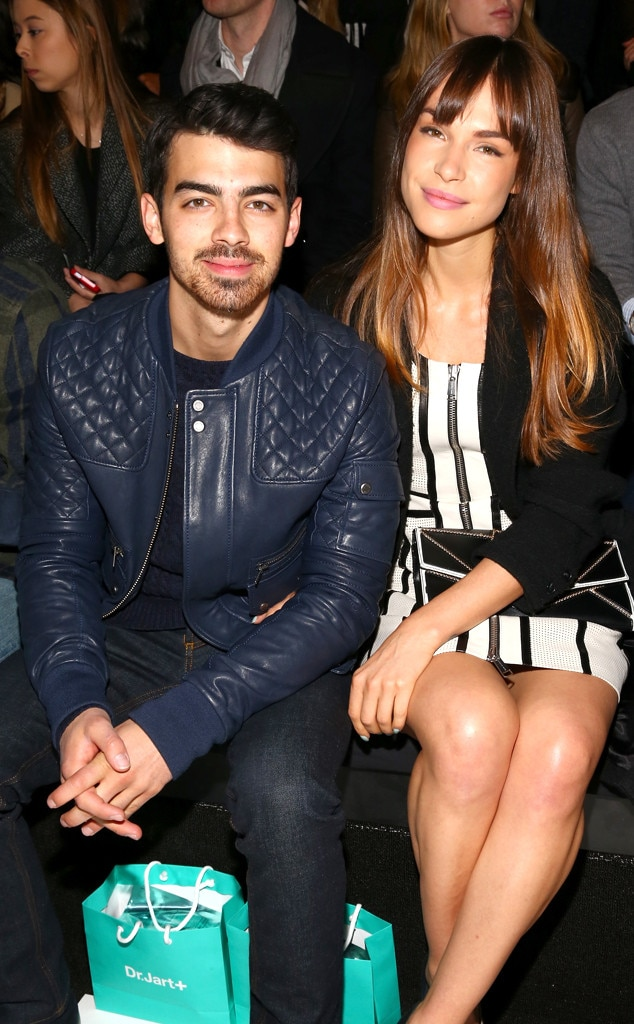 Joe Jonas and Blanda E...