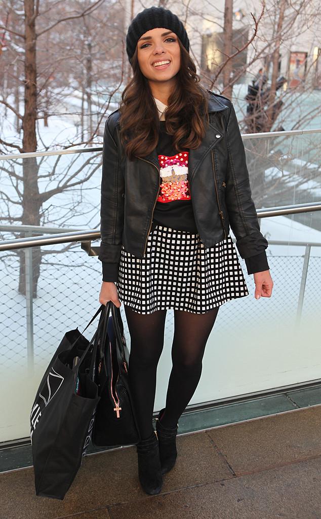 Daniela ramirez from new york fashion week fall 2014 street style e news New york fashion week street style fall 2014