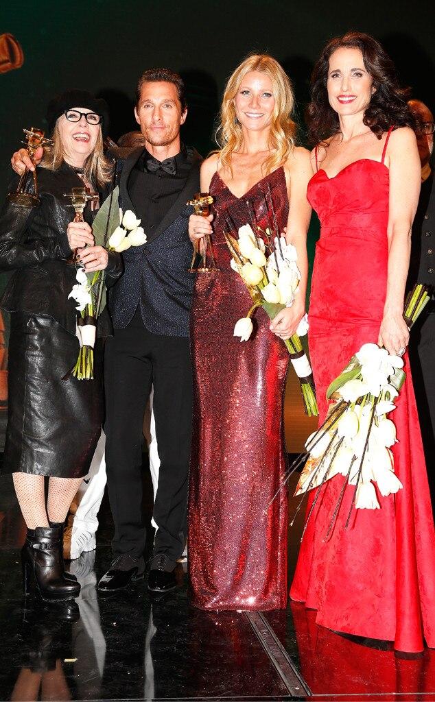 Diane Keaton, Matthew McConaughey, Gwyneth Paltrow, Andie MacDowell