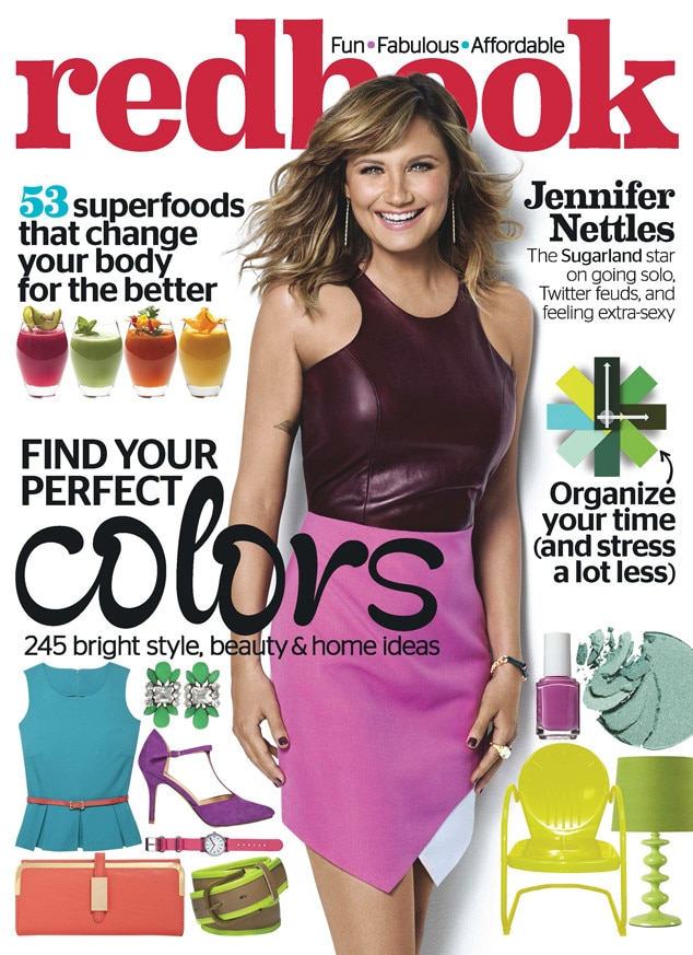 Jennifer Nettles, Redbook