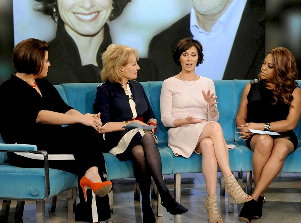 Barbara Walters, Elizabeth Vargas, The View