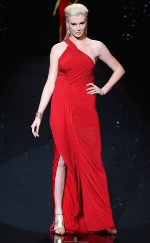 Ireland Baldwin, Red Dress
