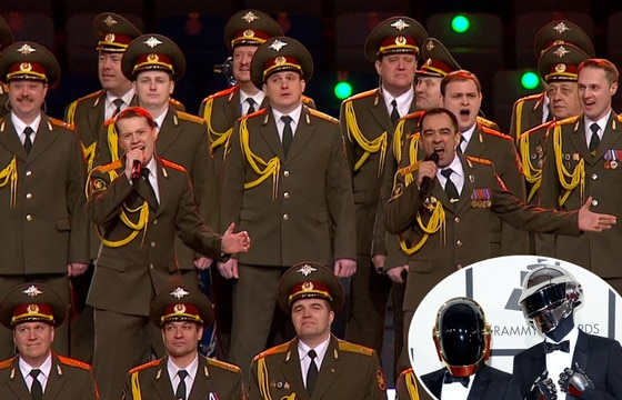 Russian Choir, Sochi Winter Olympics, Daft Punk