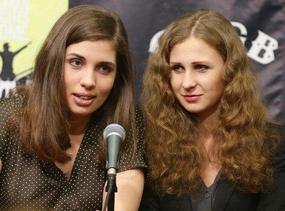 Nadezhda Tolokonnikova, Maria Alyokhina, Pussy Riot