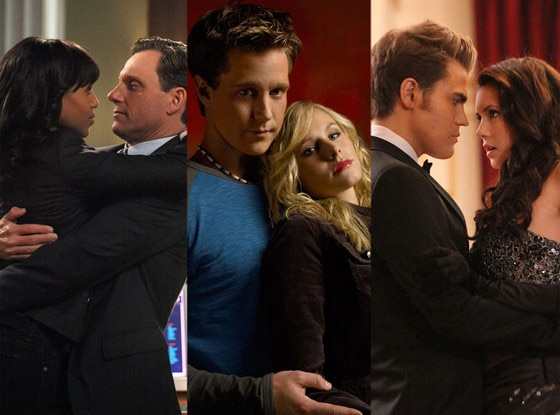 Love Triangles, Scandal, Veronica Mars, The Vampire Diaries