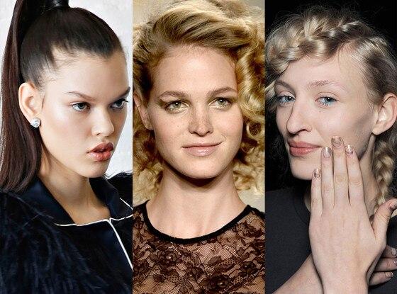 NYFW, Creatures of the Wind, Desigual, Kate Spade, Erin Heatherton, Beauty, Makeup, Hair
