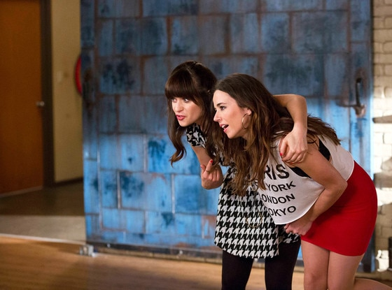 New Girl, Zooey Deschanel, Linda Cardellini