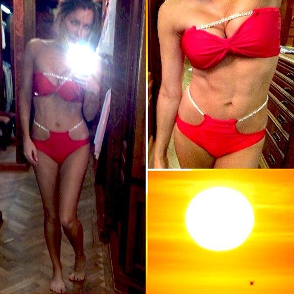 Crystal Hefner, Bikini