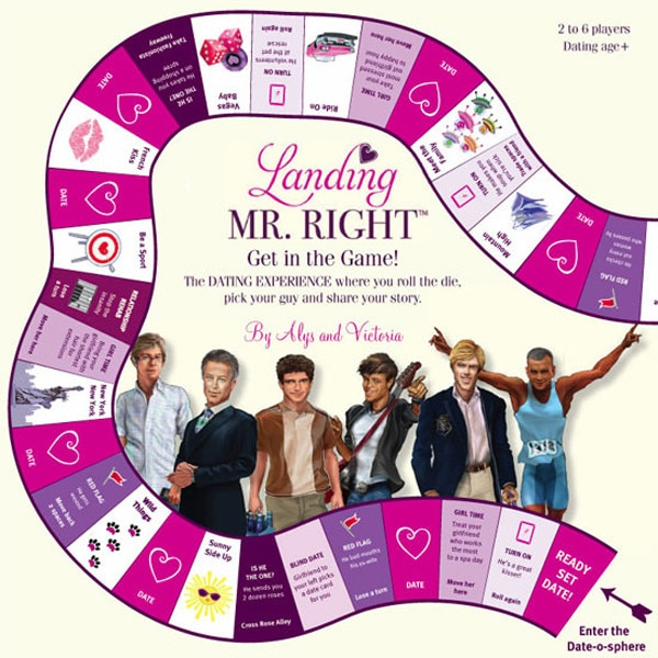 Landing Mr. Right Board Game