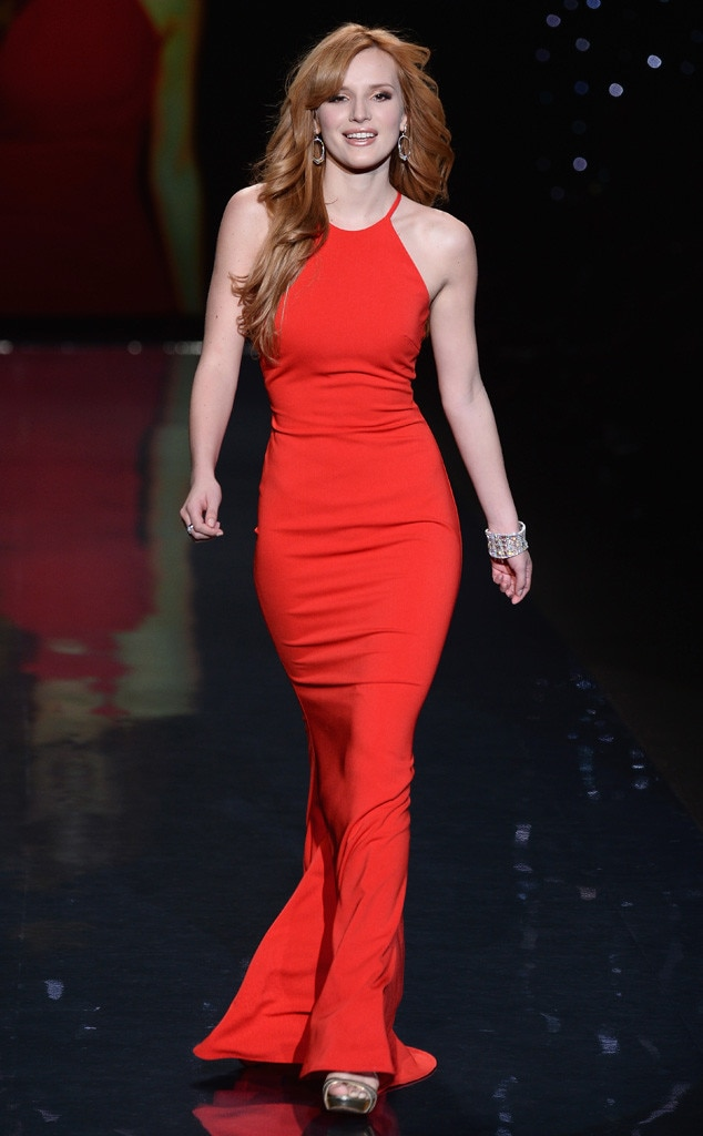 Bella Thorne, Red Dress