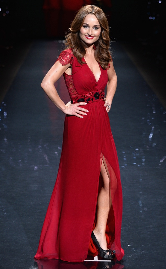 Giada De Laurentiis, Red Dress