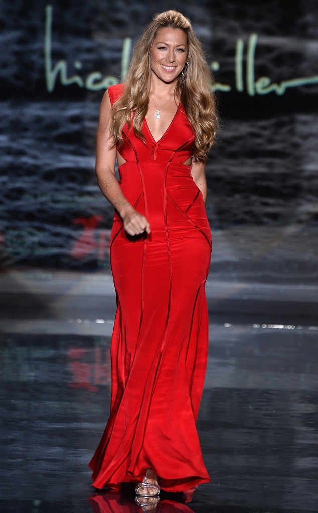 Colbie Caillat, Red Dress