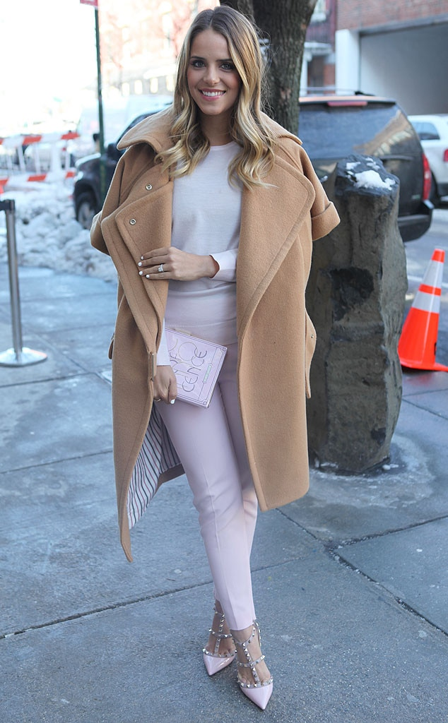 Julia Engel From New York Fashion Week Fall 2014 Street Style E News