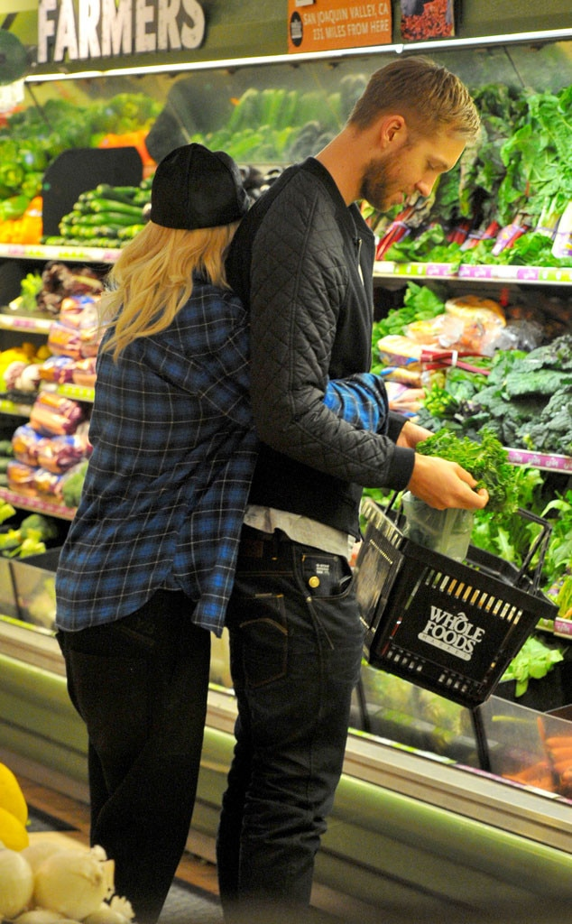 Rita Ora, Calvin Harris, Whole Foods