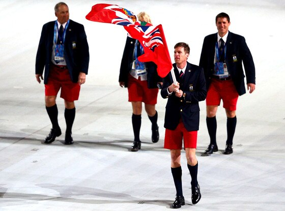 Bermuda Olympic Team, Olympics, Sochi