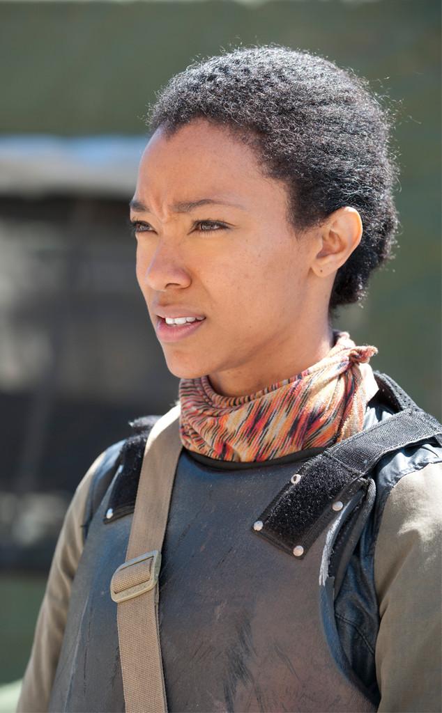 Sonequa Martin-Green, The Walking Dead