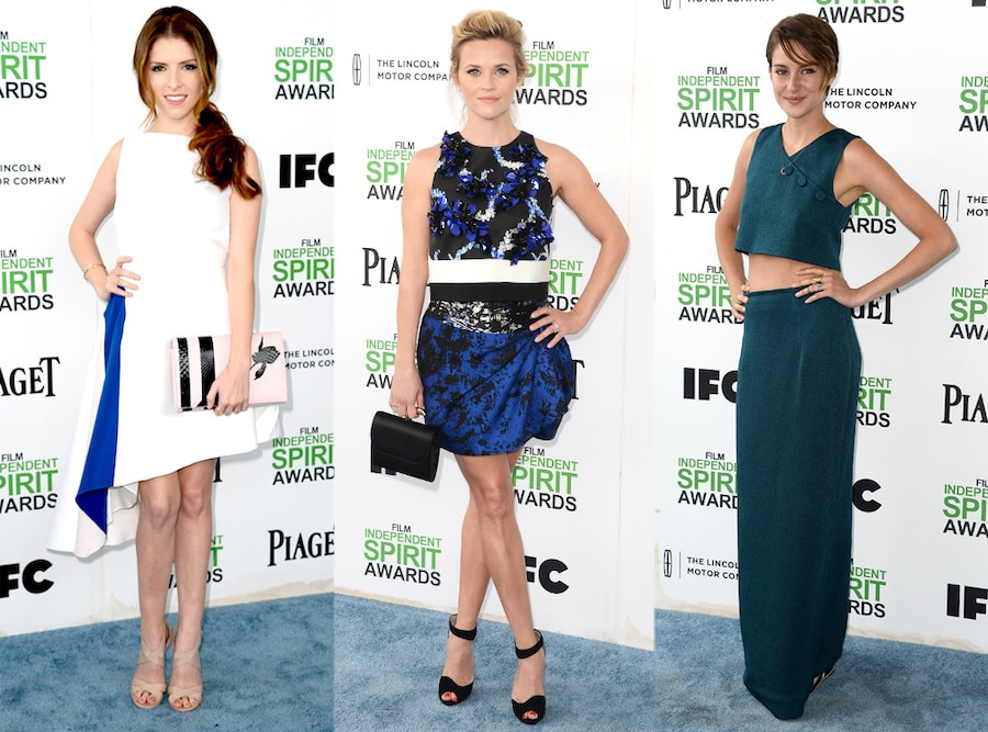 Reese Witherspoon, Anna Kendrick, Shailene Woodley, Film Independent Spirit Awards