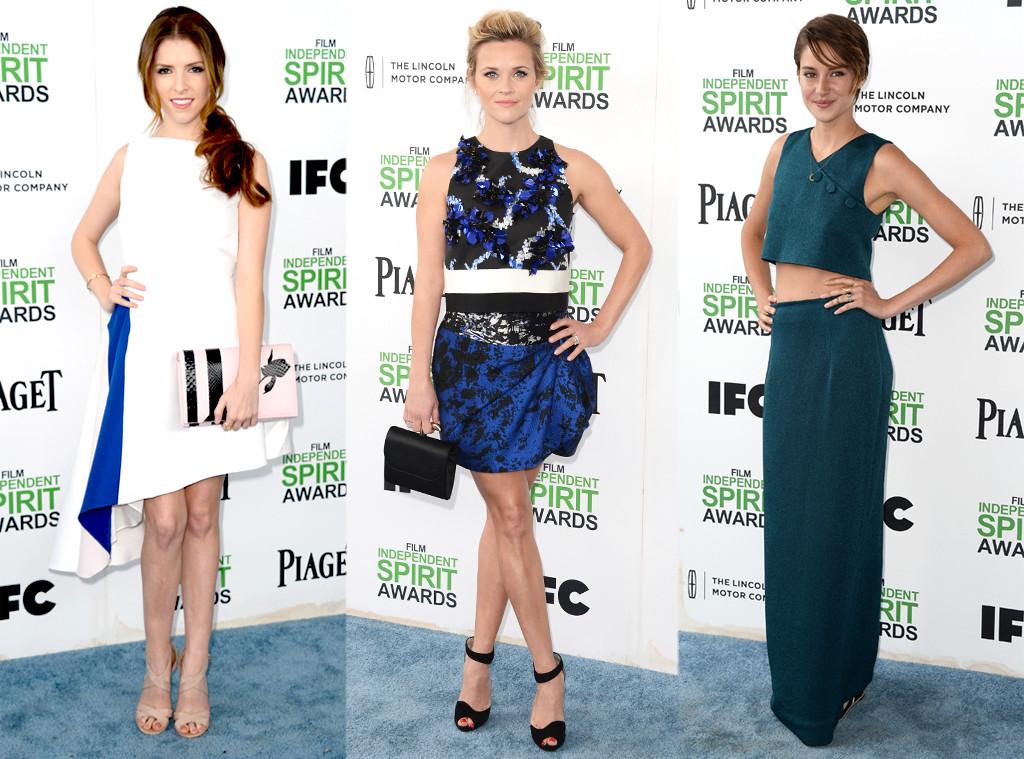 Reese Witherspoon, Anna Kendrick, Shailene Woodley, Film Independent Spirit Awards