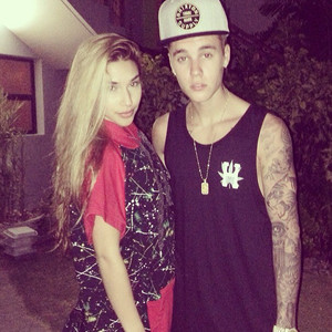 Chantel Jeffries, Justin Bieber, Instagram