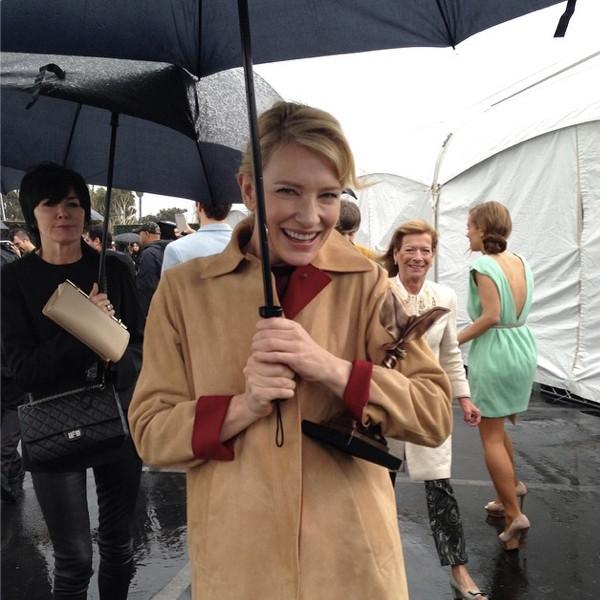 Cate Blanchett, Instagram