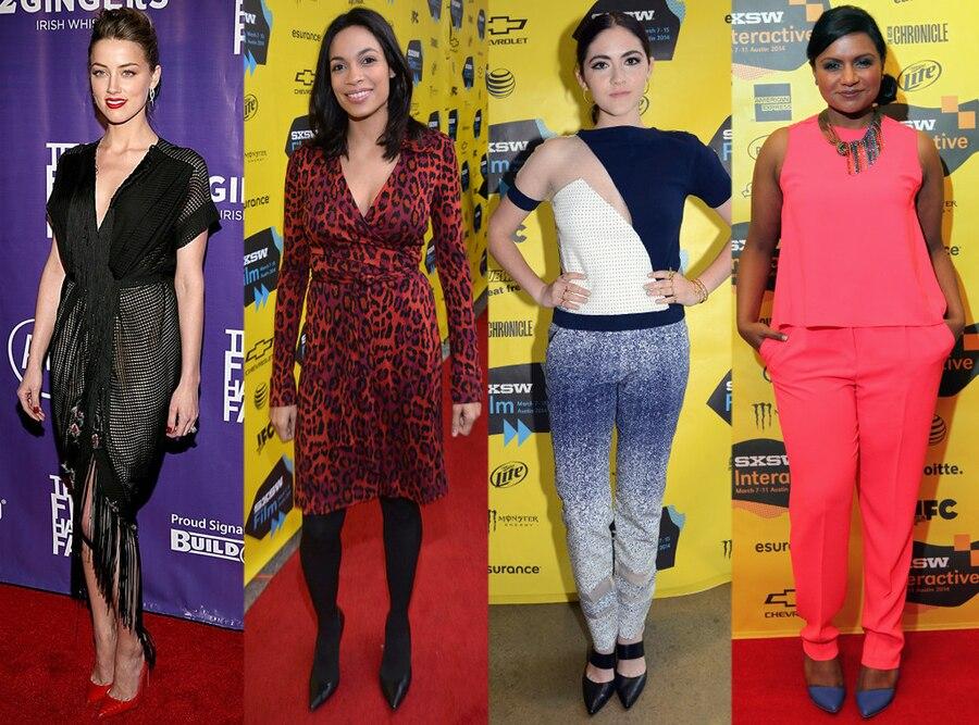 Amber Heard, Rosario Dawson, Isabelle Fuhrman, Mindy Kaling