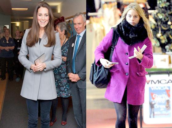 Kate Middleton, Cressida Bonas