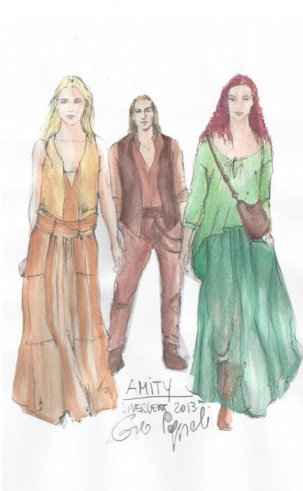 Divergent Costumes