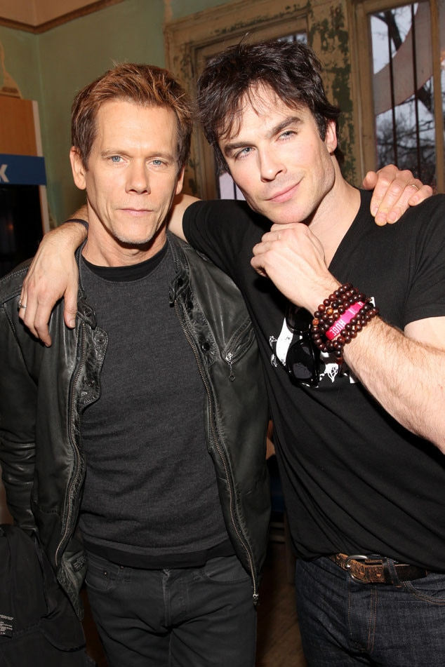 Kevin Bacon, Ian Somerhalder