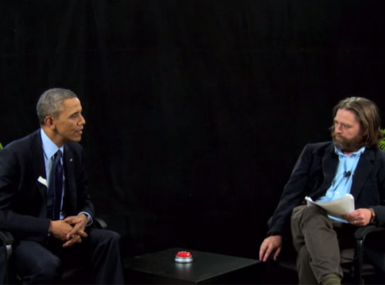 President Obama, Zach Galifianakis