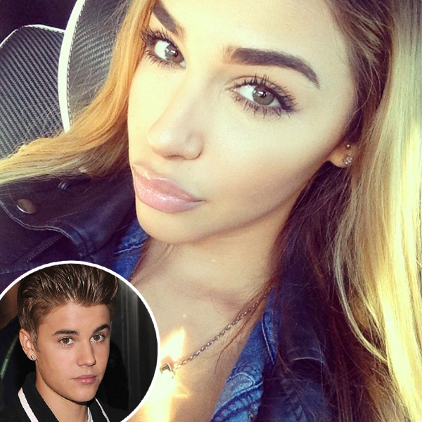 Chantel Jeffries, Instagram, Justin Bieber