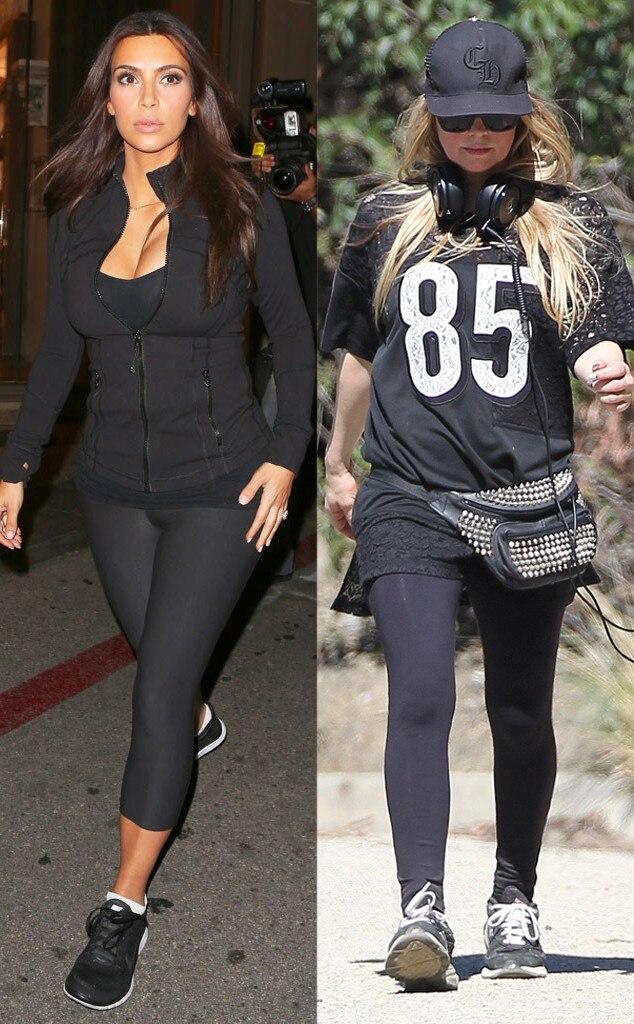 Kim Kardashian, Fergie