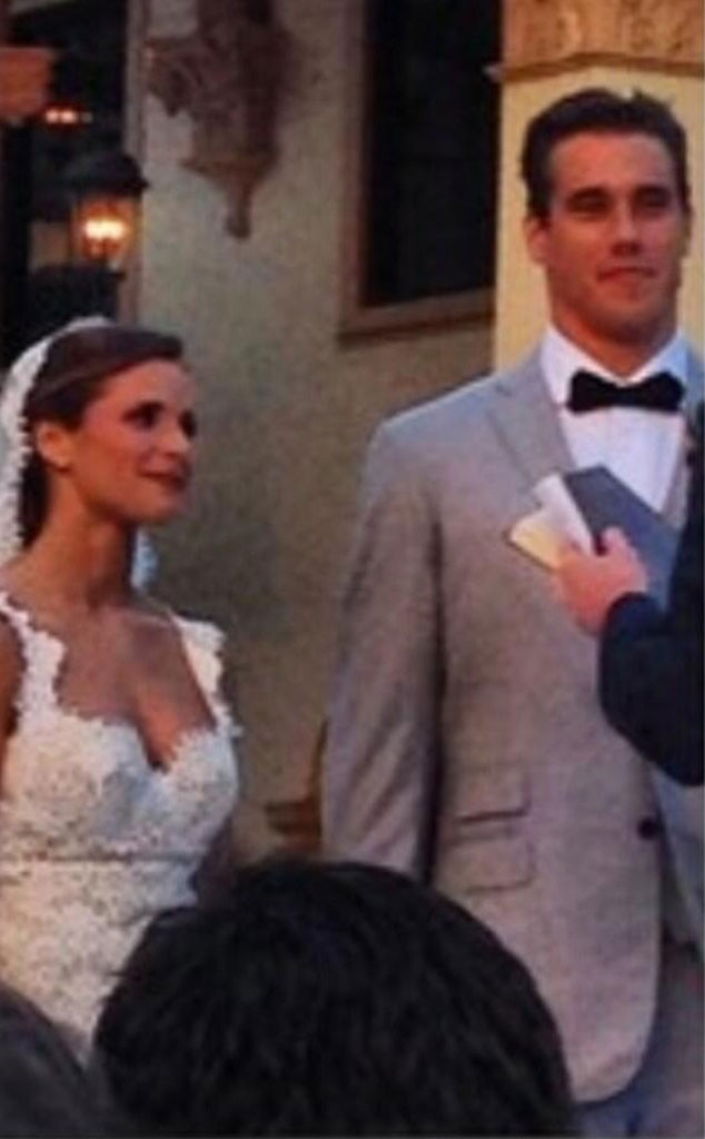 Brady Quinn, Alicia Sacramone Wedding
