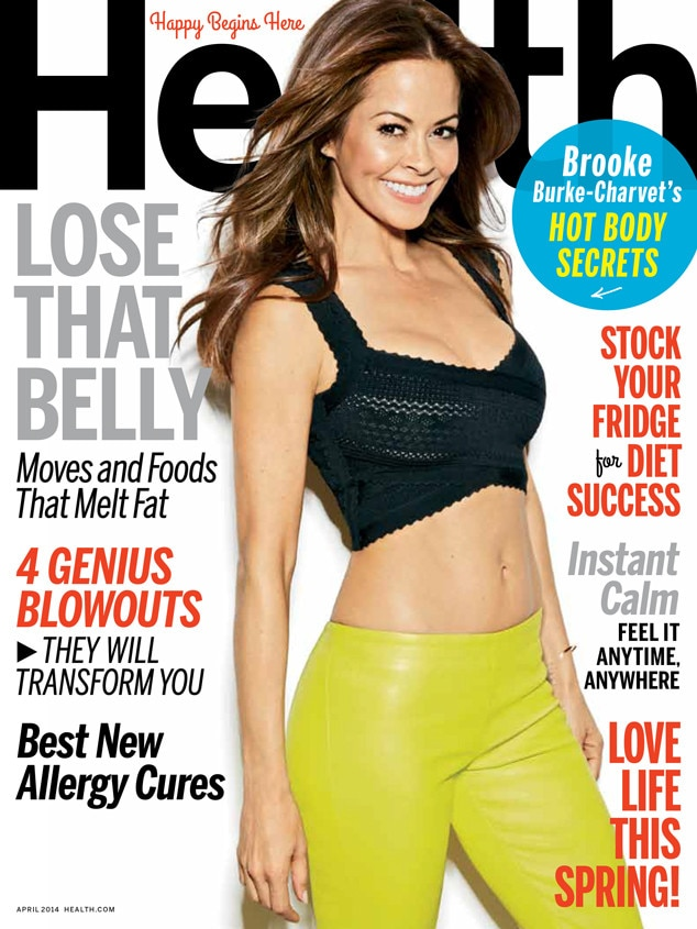 Brooke Burke, Health Magazine