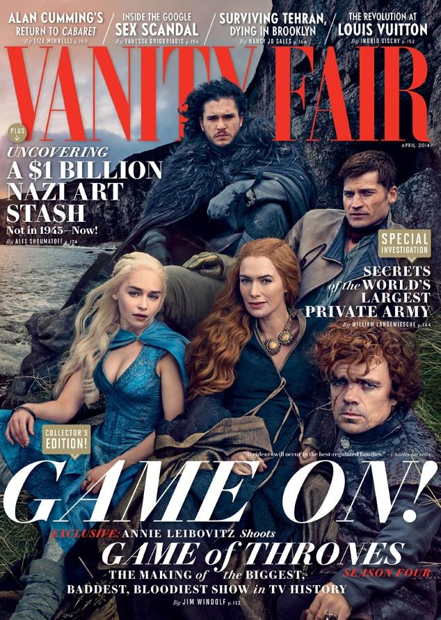 Game Of Thrones, Vanity Fair