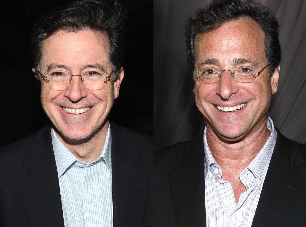 Stephen Colbert, Bob Saget