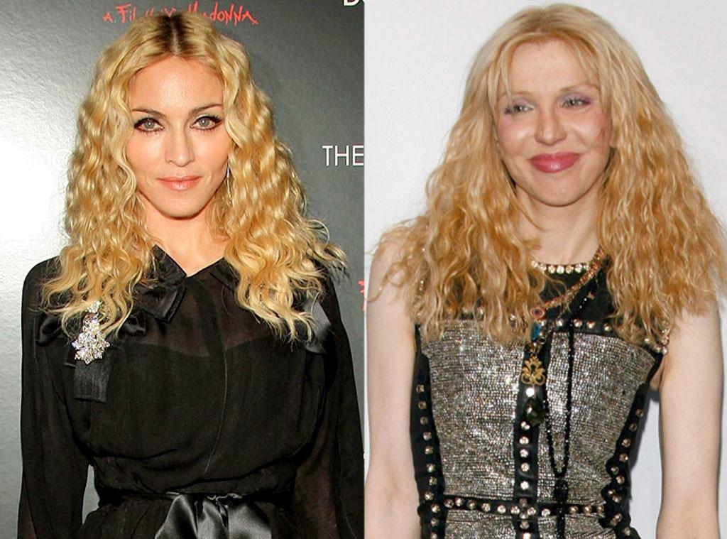 Madonna, Courtney Love