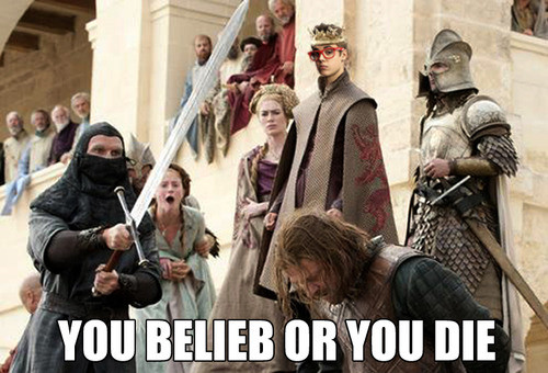 Joffrey, Justin Bieber Mashup