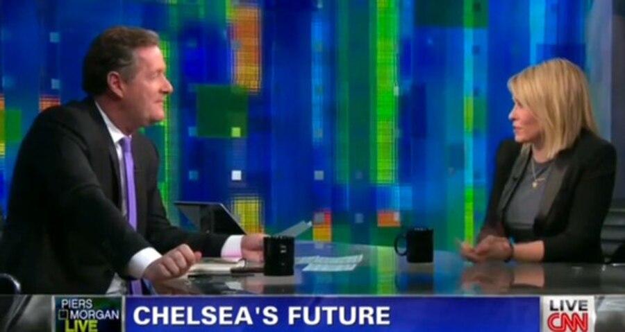 Chelsea Handler, Piers Morgan